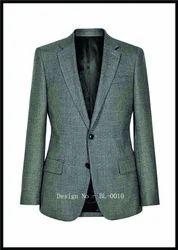 Regular Fit Polyester Men's Blazers