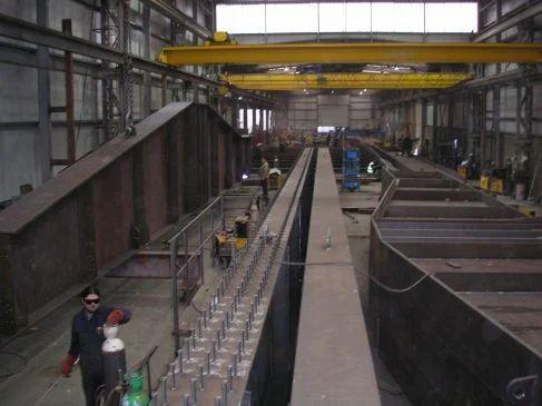 Bridge Girder Fabrication Beam Fabrication Manufacturer
