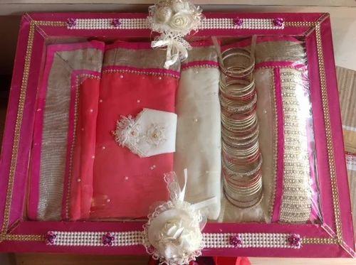 Fancy Wedding Saree Tray Fancy Wedding Saree Tray Venkatesh Gifts Adorable Saree Tray Decoration