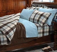 Great Flannel Linen Bed Sheet