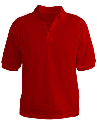 474163f78 Plain Collared T-Shirts-Red | Vastra India | Service Provider in ...