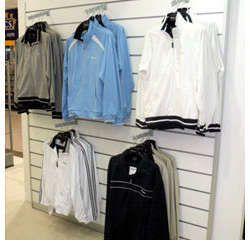 Slat Wall Jacket Racks