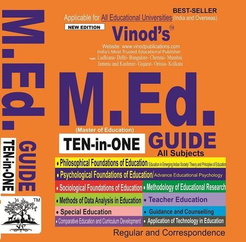 M Ed  GUIDE (Master of Education)TEN-in-ONE in Ludhiana