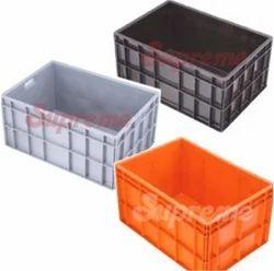Rectangular Supreme Plastic Jumbo Crates, for Vegetable Crate