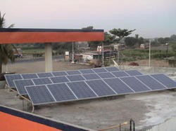Solar Roof Top Systems for Petrol Pumps