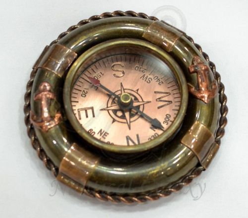 Buoy Paper Weight Compass