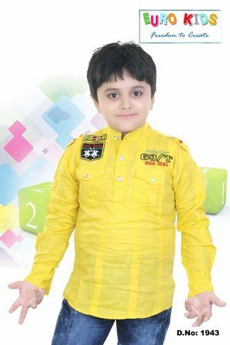 e6cca6e30 Kids Linen Shirts at Rs 400 /onwards | Children Shirt - Euro Kids ...