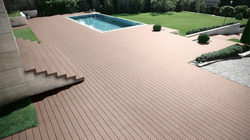 Composite Swimming Pool Deck Flooring