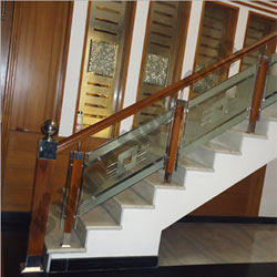 Silver Modular Stainless Steel Staircase Railings Id 4434660148