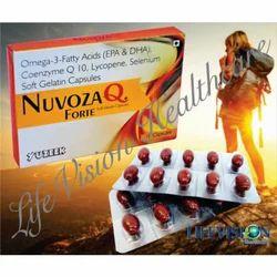 Omega Fatty Acids Coenzyme Selenium Soft Gelatin Capsules