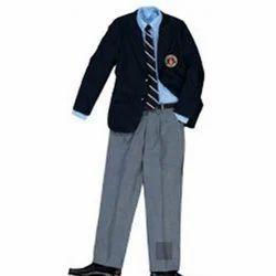 Summer Cotton Boys School Uniform, Size: Medium
