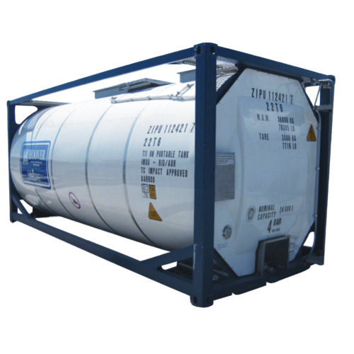 Stainless Steel Iso Containers Capacity 10 20 Ton Id