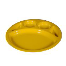 C-114 PC Partition Round Plate