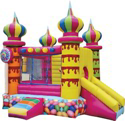 Inflatable Castle 05 Ball Pool