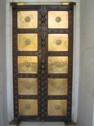 Metal Plated Door