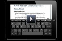 Desktop Keyboard on i Pad Software Solution