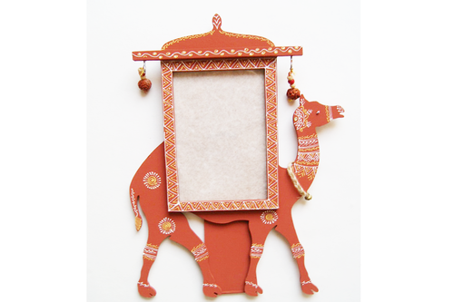 Traditional Indian Wooden Camel Photo Frame - Rich Handicraft ...