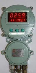 Ace Instruments Digital Tachometer Flameproof Temperature Cum RPM Indicator, For Industrial, Model Number/Name: AI-BOC2-FLP