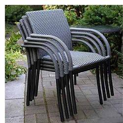garden stackable chairs - Garden Furniture Delhi