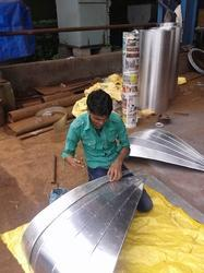 Aluminum Sheet Cladding Fabrication