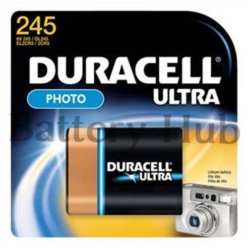 Duracell Photo Lithium Battery, Voltage: 6 V