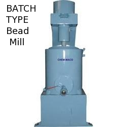 Batch Type Bead Mill Manufacturers