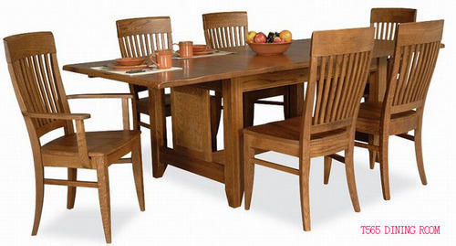 Merveilleux Rubberwood Dining Table
