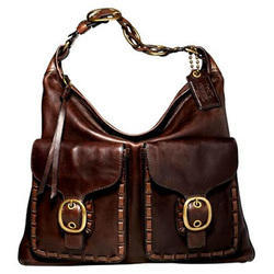 Pure Leather Designer Handbag