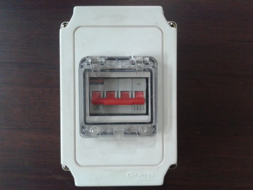 Ip 65 Distribution Boxes 4 Way Mcb Box Manufacturer From