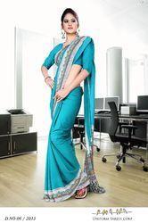 Designer Uniform Sarees
