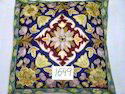 Kashmir Hand Embroidered Cushion Cover