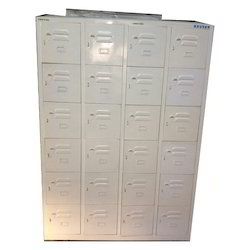 Mild Steel 24 Cubical Locker Cabinet