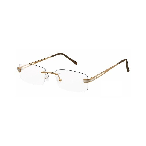 a45108bf021 Designer Rim Less Optical Gold Spectacle Frame - Balaji Exim