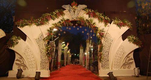 Wedding gate flower decoration in girgaon mumbai id 9106173048 wedding gate flower decoration junglespirit Choice Image