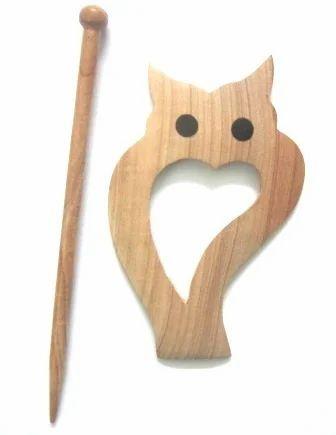 Owl Shawl Pins