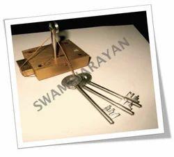 Safe Square Brass Lock