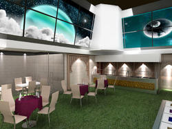 Party Lawn Design Interior
