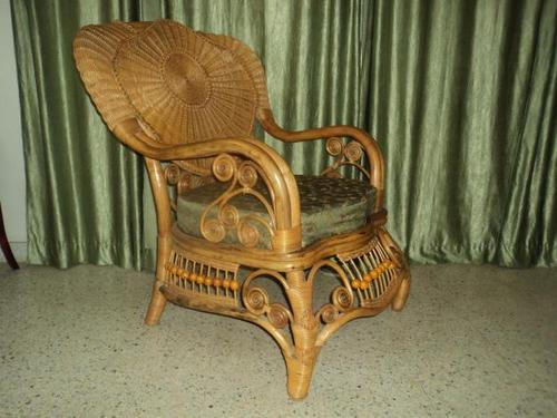 High Quality Cane Arm Easy Chair