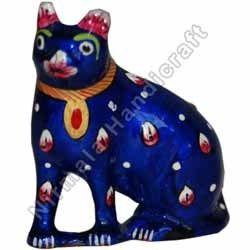 Cat Metal Meena Painting