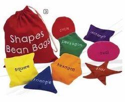 Multicolor Multi shape GISCO Shapes Bean bags