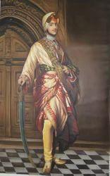 Maharaja Dilip Singh Portrait Painting