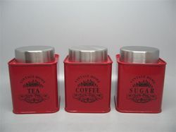 Steel Storage Jar