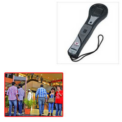 Hand Held Metal Detector for Mall