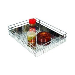 Stainless Steel Perforated Plain Basket