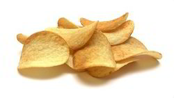 Baked Diet Potato Wafers