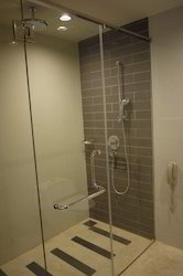 Shower Units With Glass Doors