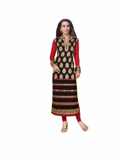 f9d2baaa772 Ladies Georgette Salwar Kameez - Ladies Salwar Kameez Manufacturer from  Surat