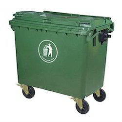 Waste Dust Bin Trolley