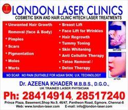 London Laser Clinics - Service Provider of Scars, Moles