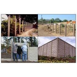 Compound Wall Installation Service, Application/Usage: Commercial